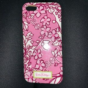 Alpha Phi Lilly Pulitzer iPhone case